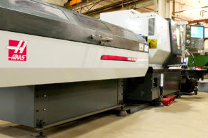 M&M Automatic Haas CNC Turning Machine